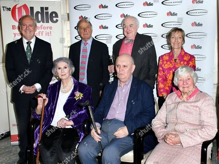 Gyles Brandreth, April Ashley, Geoffrey Palmer, Alan Ayckbourn, Henry Blofeld, Virginia Lewis-Jones, Shirley Williams