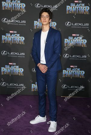 Editorial image of 'Black Panther' film premiere, Arrivals, Los Angeles, USA - 29 Jan 2018