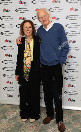 Stock Image of Claire Tomalin and Michael Frayn