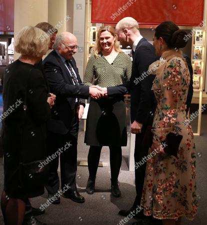 Prince William at the Nobel Museum in Stockholm with Nobel Laureate Professor Duncan Haldane