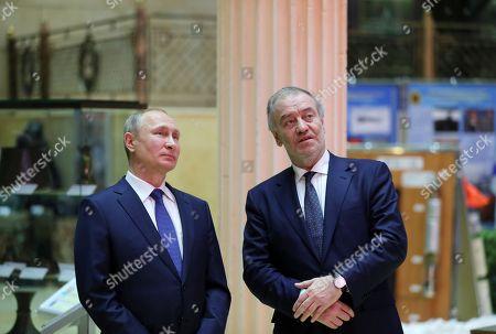 Vladimir Putin and Valery Gergiev