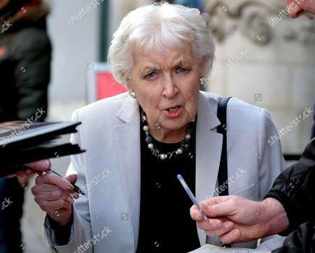 Stock Photo of Dame June Whitfield