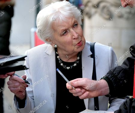 Stock Picture of Dame June Whitfield