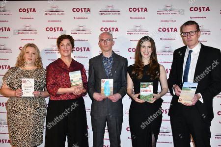 Gail Honeyman, Rebecca Stott, Jon McGregor, Katherine Rundell, Patrick Charnley