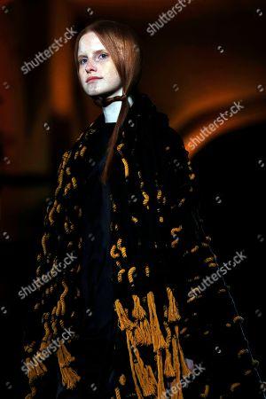 Editorial photo of Miriam Ponsa - Runway - 080 Barcelona Fashion, Spain - 30 Jan 2018