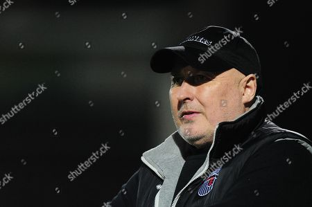 Stock Picture of Russell Slade, Manager of Grimsby Town during the Sky Bet League 2 Match between Yeovil Town and Grimsby Town at Huish Park, Yeovil, Somerset, on January 30th 2018