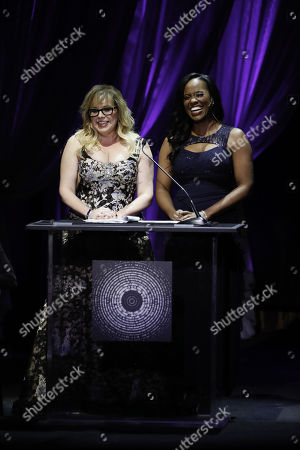Kirsten Vangsness and Zakiya Young