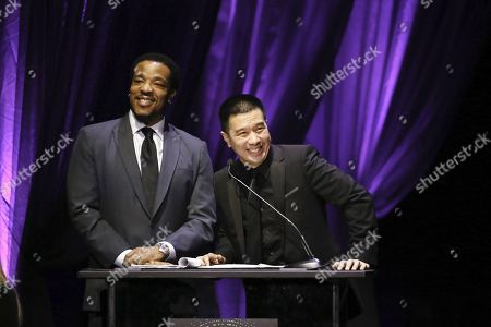 Stock Picture of Russell Hornsby and Reggie Lee