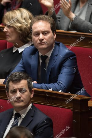 Sylvain Maillard attends the weekly session of the questions to the government at French parliament.