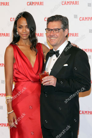 Editorial photo of Campari Red Diaries 'The Legend of Red Hand' film premiere, Milan, Italy - 30 Jan 2018