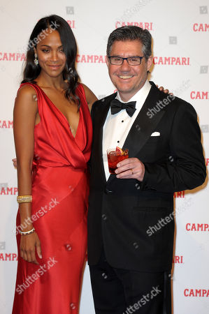 Editorial image of Campari Red Diaries 'The Legend of Red Hand' film premiere, Milan, Italy - 30 Jan 2018