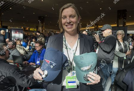 British Sports Minister Tracey Crouch In Minneapolis for Super Bowl