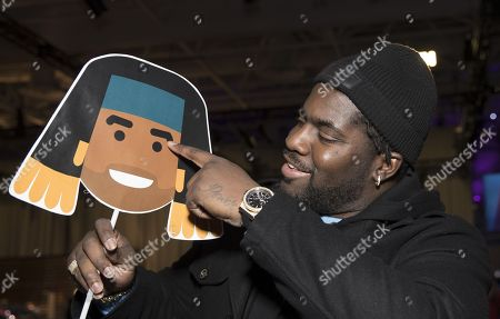 Menelik Watson the  English professional American football offensive tackle for the Denver Broncos  with fellow British Player Jay Ajayi Emoji