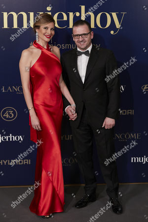 Editorial image of 9th Annual Mujer Hoy Awards, Arrivals, Madrid, Spain - 30 Jan 2018