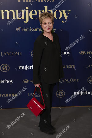 Editorial picture of 9th Annual Mujer Hoy Awards, Arrivals, Madrid, Spain - 30 Jan 2018