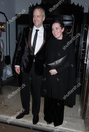 Ed Sinclair and Olivia Colman