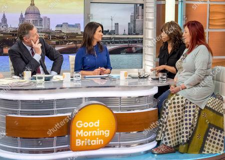 Piers Morgan, Susanna Reid, Trisha Goddard and Lynne Franks