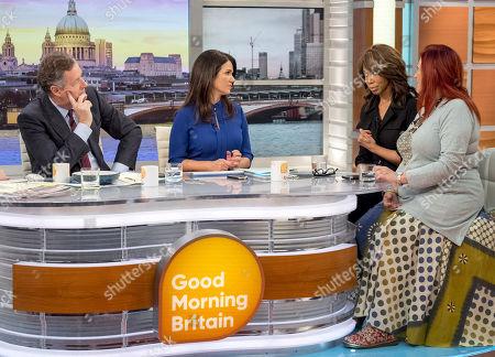 Editorial photo of 'Good Morning Britain' TV show, London, UK - 31 Jan 2018