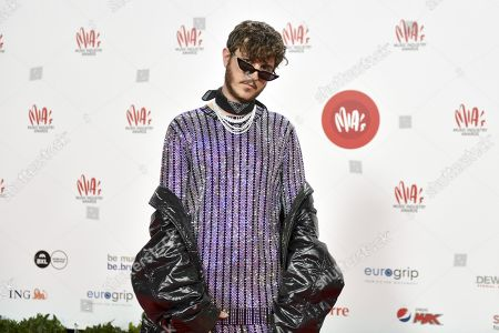 Stock Picture of Max Colombie, Oscar and the Wolf
