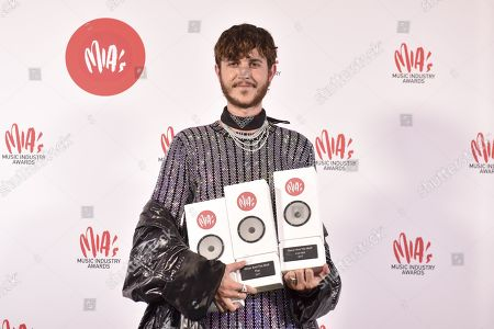 Editorial picture of Music Industry Awards , Brussels, Belgium - 31 Jan 2018
