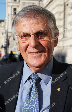 Editorial picture of Nobel Laureate Dan Shechtman out and about, Vienna, Austria - 30 Jan 2018