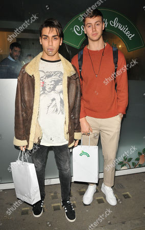 Stock Photo of Samuel Bensoussan and Barney Banks