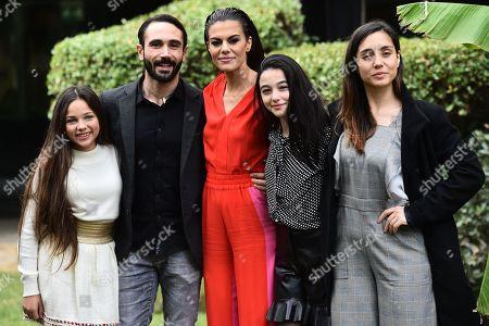 Stock Photo of Giorgia Agata, Marco Palvetti, Bianca Guaccero, Elena Foresta, Cristiana Dell Anna