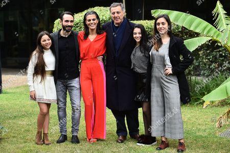 Stock Image of Giorgia Agata, Marco Palvetti, Bianca Guaccero, Luca Barbareschi, Elena Foresta, Cristiana Dell Anna
