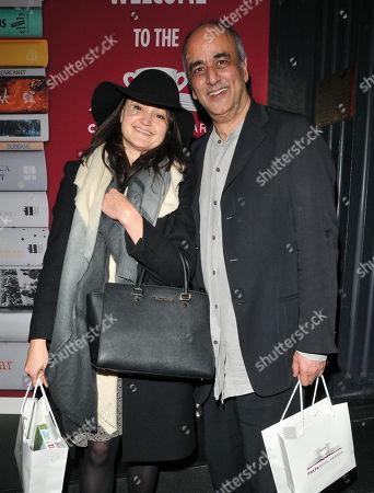 Stock Image of Keira Malik and Art Malik