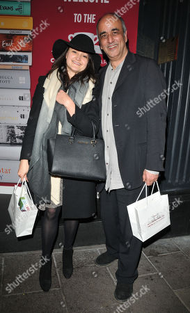 Keira Malik and Art Malik