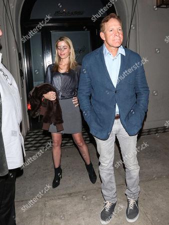 Steve Guttenberg and Emily Smith at Craig's restaurant