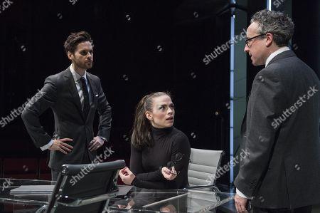 Tom Riley as Seth, Hayley Atwell as Jenny, Aidan McArdle as Rick
