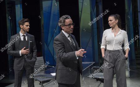 Tom Riley as Seth,Aidan McArdle as Rick,  Hayley Atwell as Jenny,