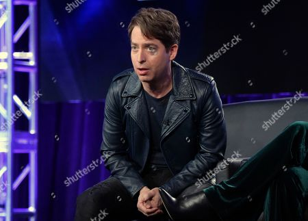 """Charlie Walk participates in """"The Four"""" panel during the FOX Television Critics Association Winter Press Tour in Pasadena, Calif. Republic Records has put its president on leave after a former employee accused him of sexual harassment in an open letter posted on her website. Republic Records says it has hired an independent law firm to investigate the matter and encouraged any affected employees to meet with them"""