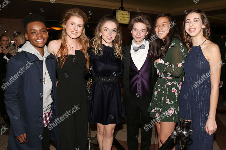 Jahi Di'Allo Winston, Nicole MCullough, Sydney Sweeney, Quinn Liebling, Jae Pinkner and Abi Brittle