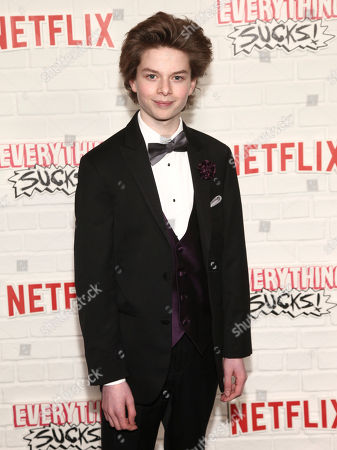 "Quinn Liebling attends the season one premiere of Netflix's ""Everything Sucks!"" at AMC 34th Street, in New York"
