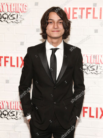 """Rio Mangini attends the season one premiere of Netflix's """"Everything Sucks!"""" at AMC 34th Street, in New York"""