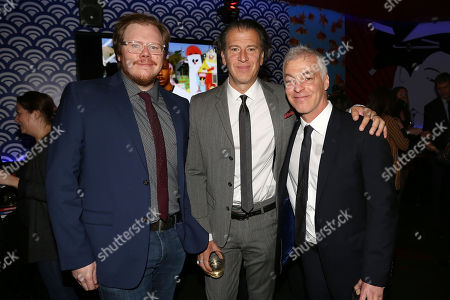 Ben York Jones (Co-Creator), Scott Rosenberg and Jeff Pinkner (Exec. Producers)