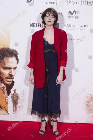 Editorial photo of 'Sara's Notebook' film premiere, Madrid, Spain - 31 Jan 2018