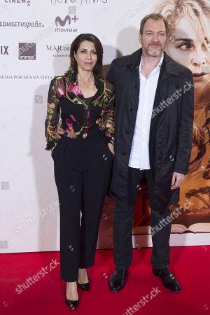 Stock Picture of Alicia Borrachero and Ben Temple