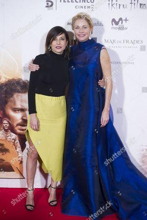 Belen Rueda and Marian Alvarez