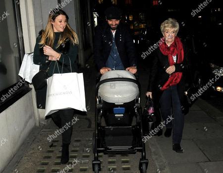 Stock Photo of Joanne Beckham, Kris Donnelly and Sandra West
