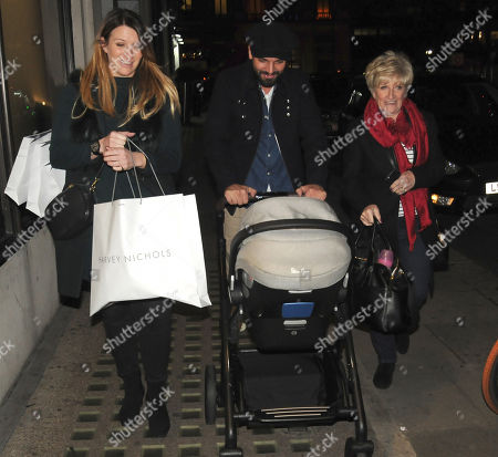 Stock Image of Joanne Beckham, Kris Donnelly and Sandra West
