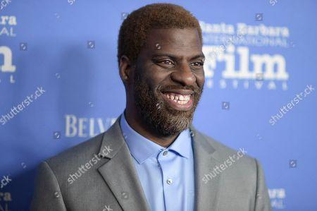 "Stock Image of Thomas Silcott attends the 2018 Santa Barbara International Film Festival opening night fIlm premiere ""The Public"", in Santa Barbara, Calif"