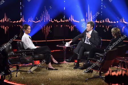 Editorial picture of 'Skavlan' TV show, Stockholm, Sweden - 31 Jan 2018