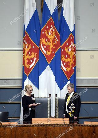 Editorial image of Finnish President Sauli Niinisto Inauguration, Helsinki, Finland - 01 Feb 2018