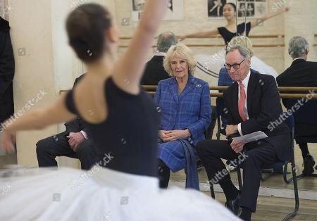 Editorial image of Camilla Duchess of Cornwall visits the Royal Academy of Dance, London, UK - 01 Feb 2018
