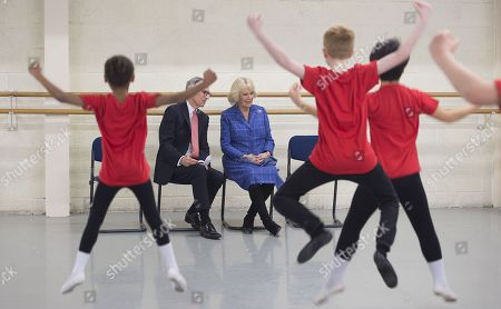 Editorial picture of Camilla Duchess of Cornwall visits the Royal Academy of Dance, London, UK - 01 Feb 2018