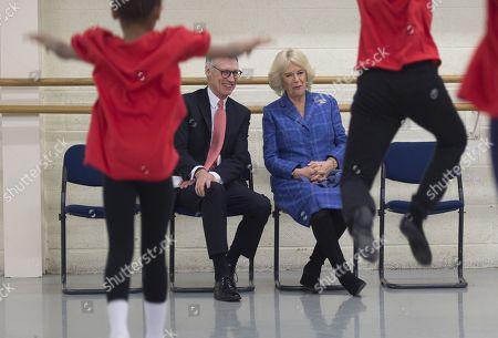 Editorial photo of Camilla Duchess of Cornwall visits the Royal Academy of Dance, London, UK - 01 Feb 2018