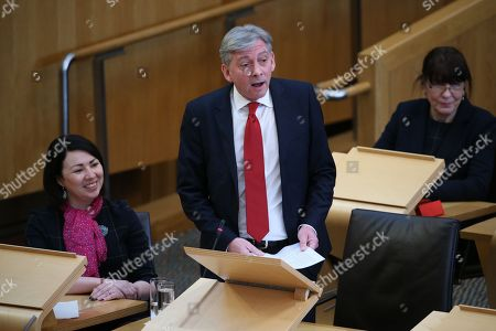 Editorial picture of Scottish Parliament First Minister's Questions, The Scottish Parliament, Edinburgh, Scotland, UK - 01 February 2018